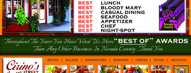 """Cirino's at Main Street Voted """"The Best"""" by The Union"""
